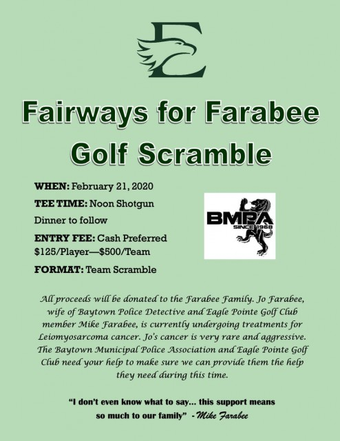 Fairways for Farabee Golf Scramble